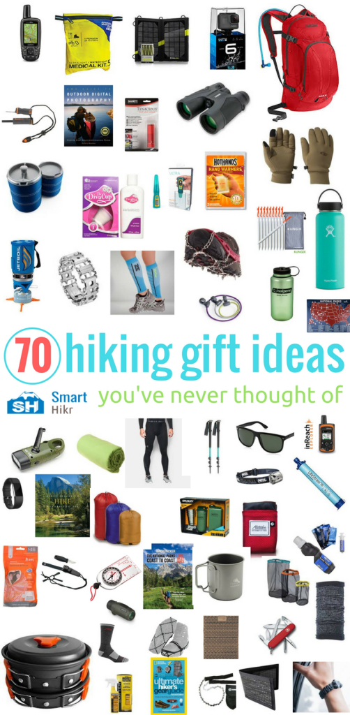 unique hiking gifts - infographic