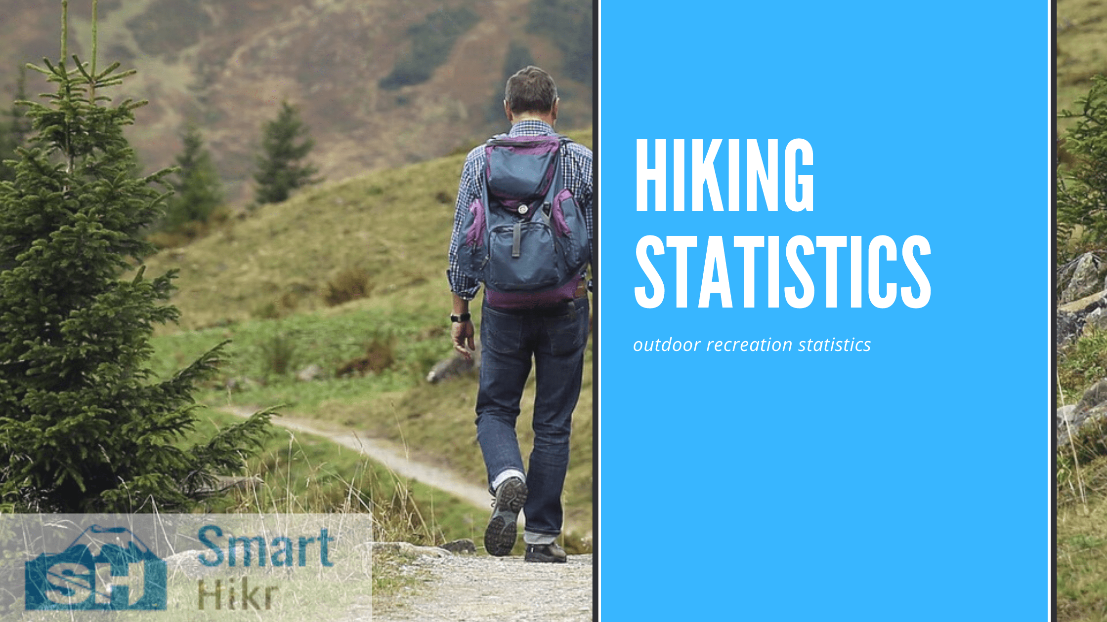 Outdoor recreation statistics - hiking statistics